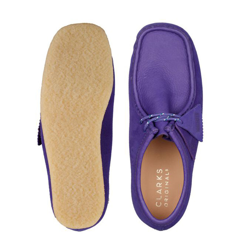 Clarks Originals Wallabee Purple Combi