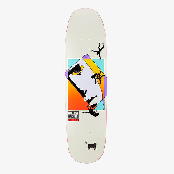 "Welcome Chris Miller Faces On Catblood  8.75"" Deck"