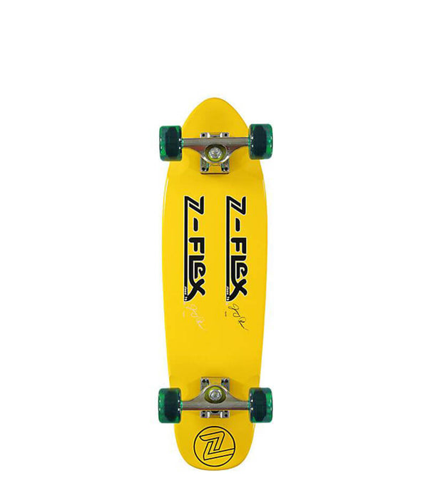 Z-Flex skateboards, Jimmy Plumer Pro Model Complete Cruiser, yellow