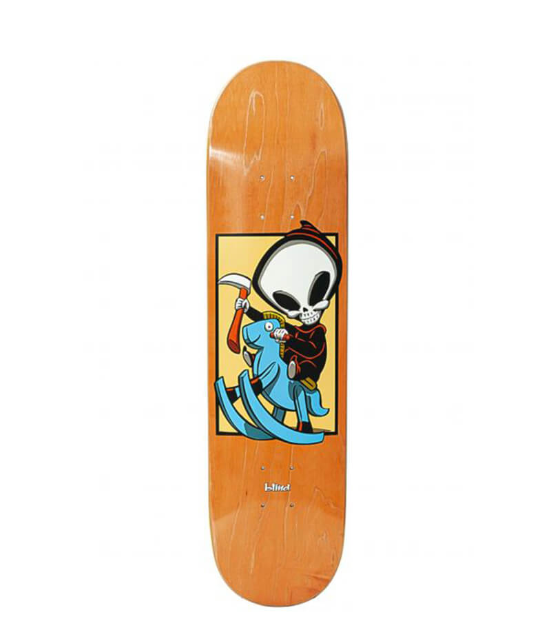 "Blind Skateboards, Micky Papa, Reaper Box R7, 7.75"" Deck"