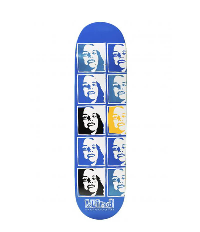 "Psychedelic 8.25"" Deck, blind skateboards"