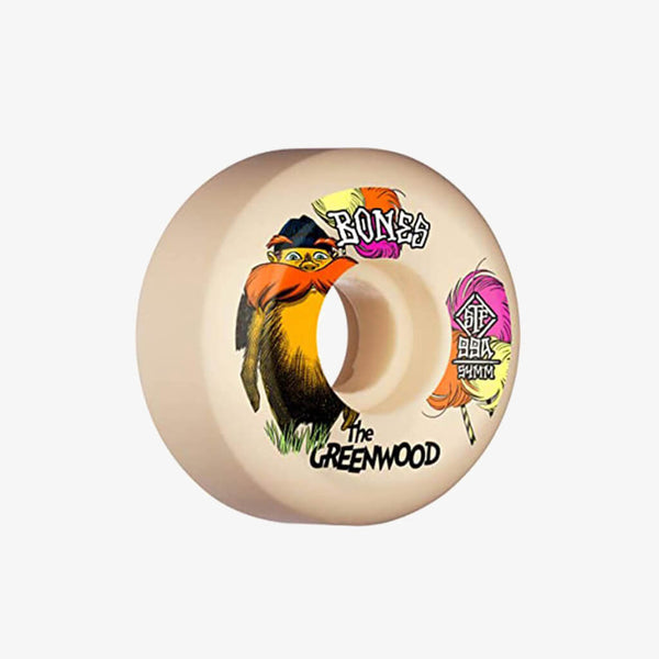 Bones Wheels 52mm STF V5 Sidecut 99A The Greenwood