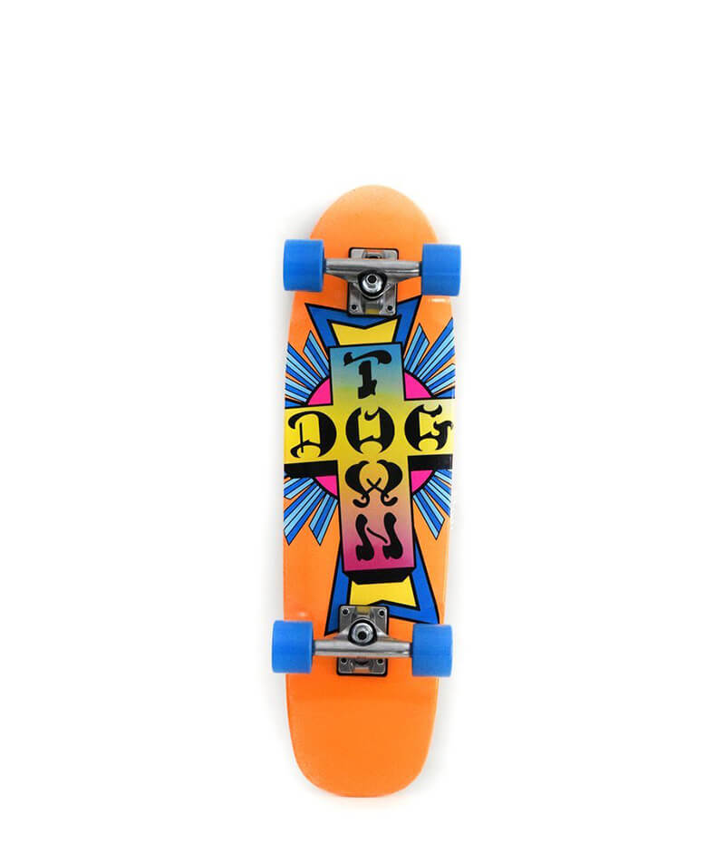 Dogtown Cruiser,  Complete Skateboard, Neon Cross