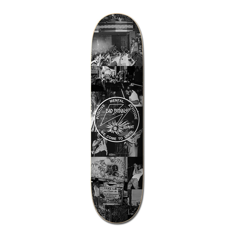 "Element Bad Brains X BJ Papas 8.5"" Skateboard Deck"