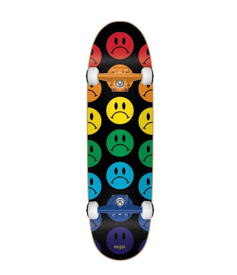 Enjoi Skateboard, Frowny Face Cruiser Complete deck