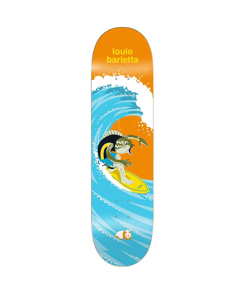 "Enjoi Skateboards, Barletta Surfs Up Impact Light 8.0"" Deck"
