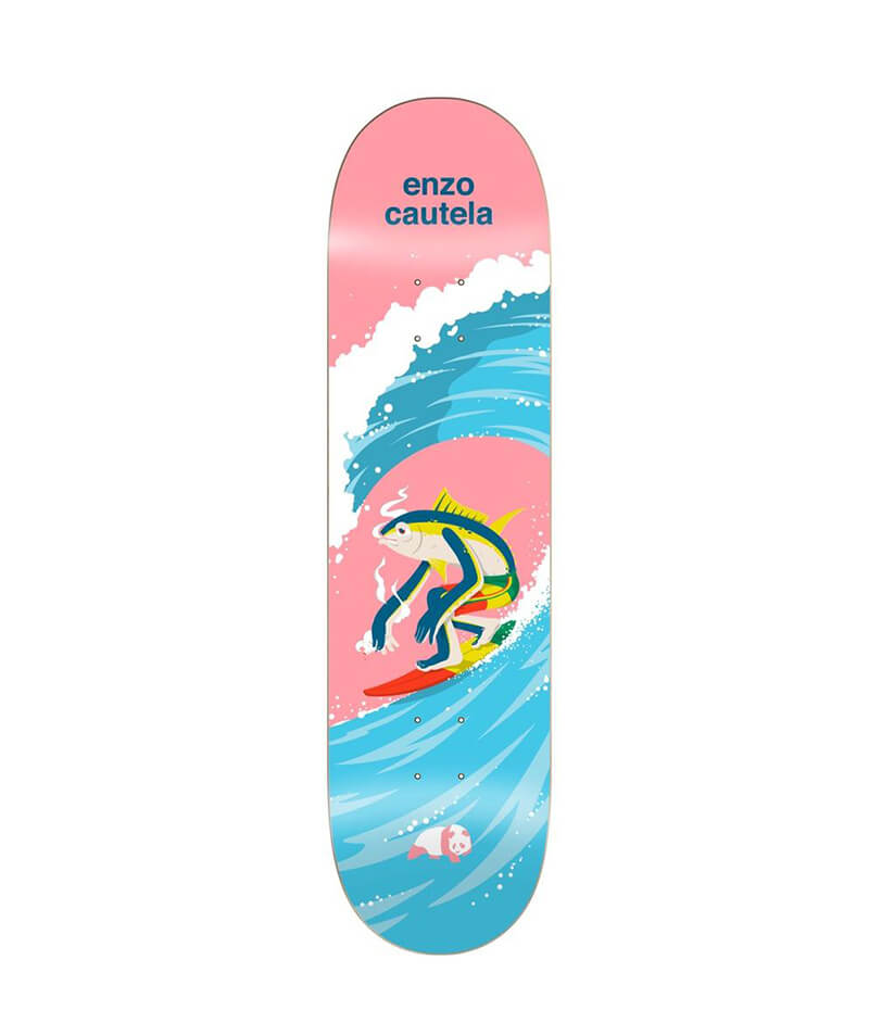 "Enjoi Skateboards, Enzo Surfs Up Impact Light 8.0"" Deck"