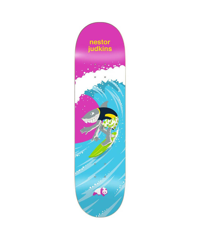 "Enjoi Skateboards Judkins Surfs Up Impact Light 8.25"" Deck"