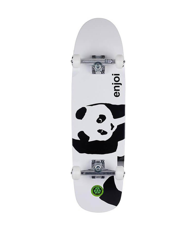 enjoi skateboard, whitey panda cruiser complete deck