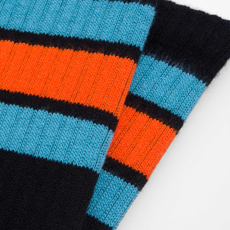 Carhartt Wip Grant Socks Elas Black Frosted Turquoise