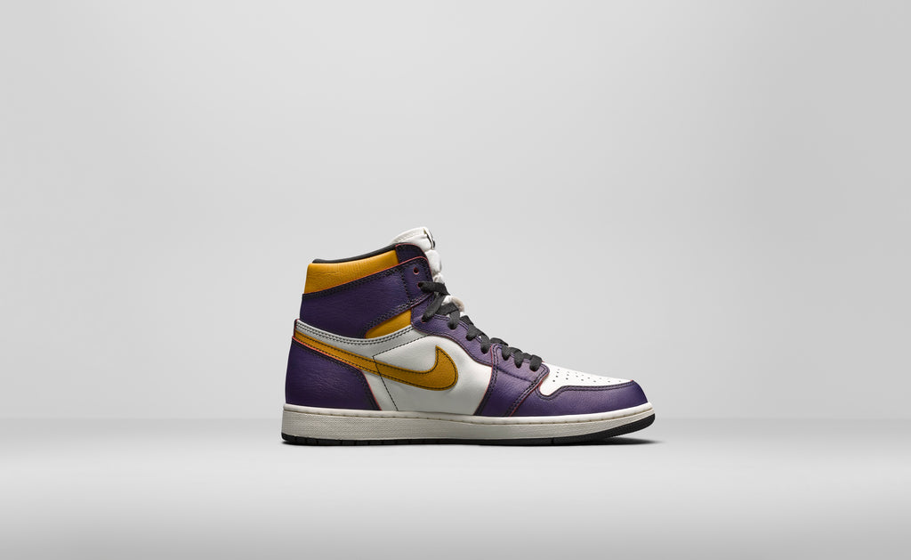 Nike Sb x Air Jordan 1 L.A to Chicago