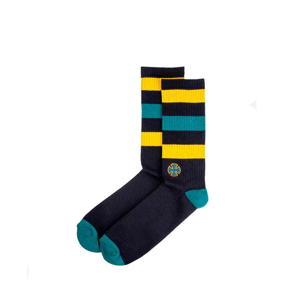 Independent Black Green Trip Socks