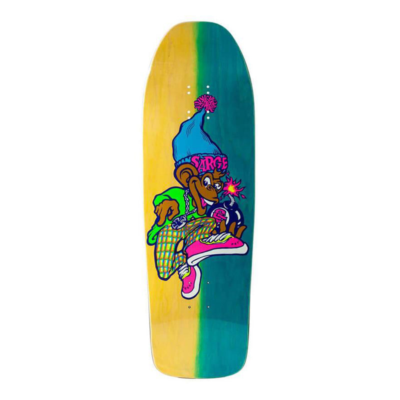 "New Deal Spray Can Neon 9.625"" Deck"