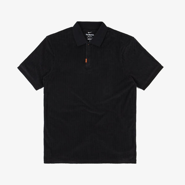 Nike SB Orange Label Polo Shirt Black