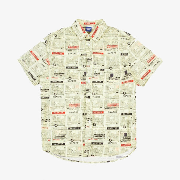 Quartersnacks Vendor Short Sleeve Button-Up Shirt