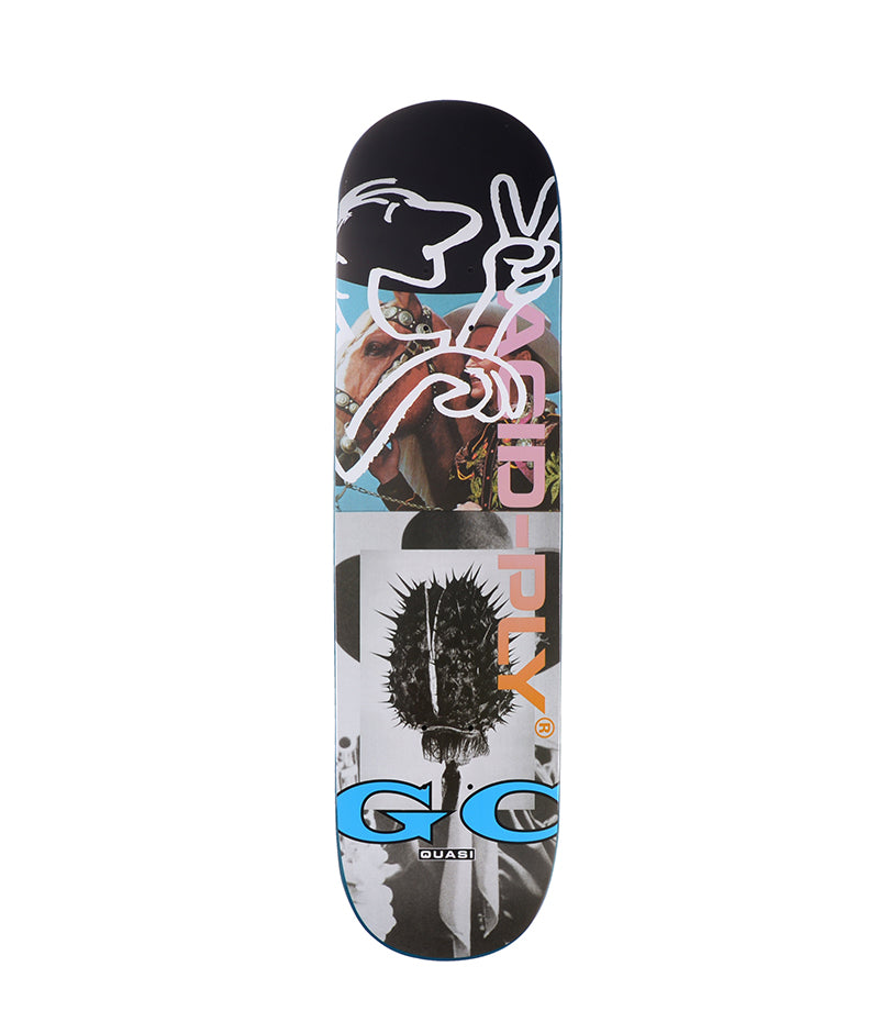 "Quasi Skateboard, Chilbert Crockett Acid Ply 8.25"" Deck"