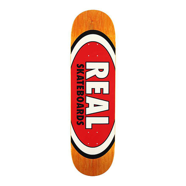 "Real Skateboards AM Edition Oval Herman 8.5"" Deck"
