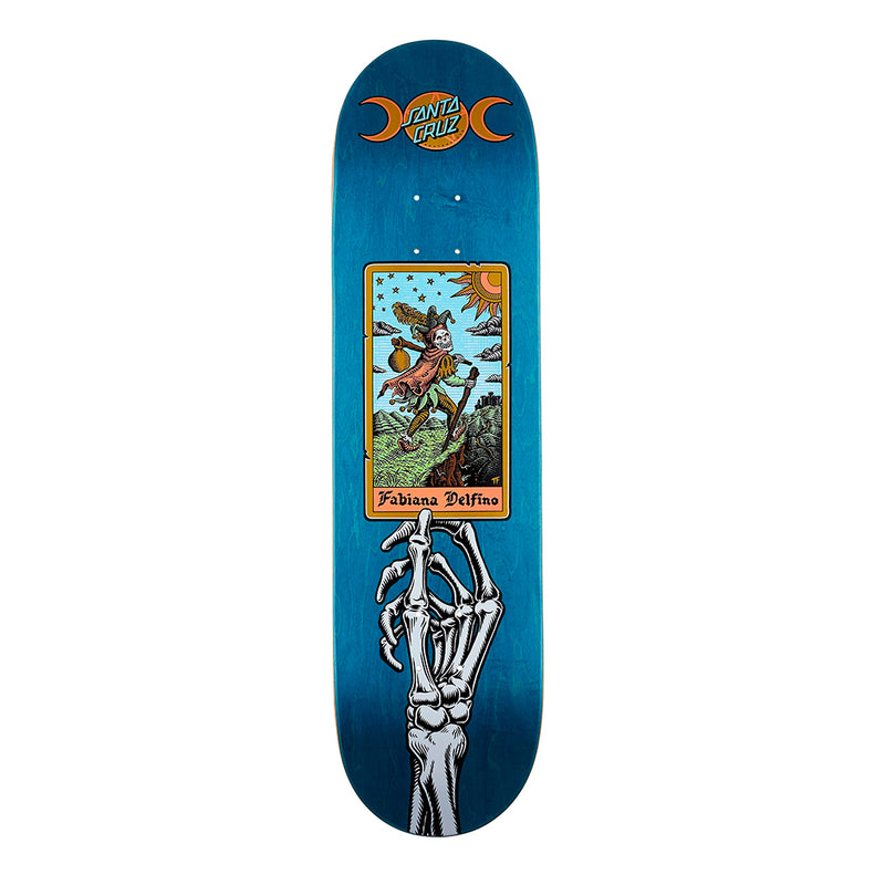 Santa Cruz, Delfino, Tarot, Powerply 8.25 Skateboard Deck
