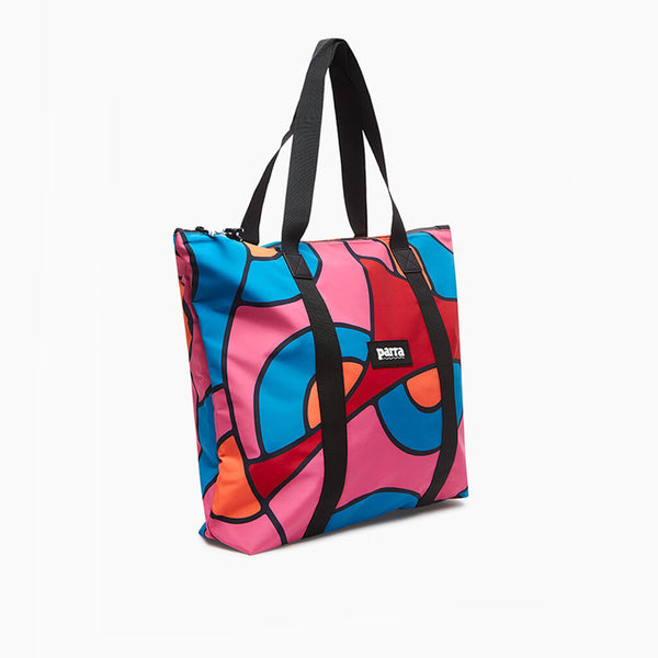 Parra Serpent Pattern Tote Bag