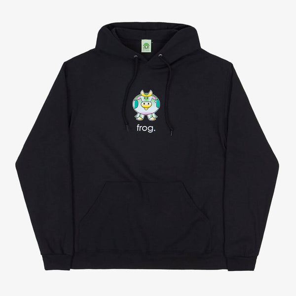 Frog Skateboards Black Cow Hoodie