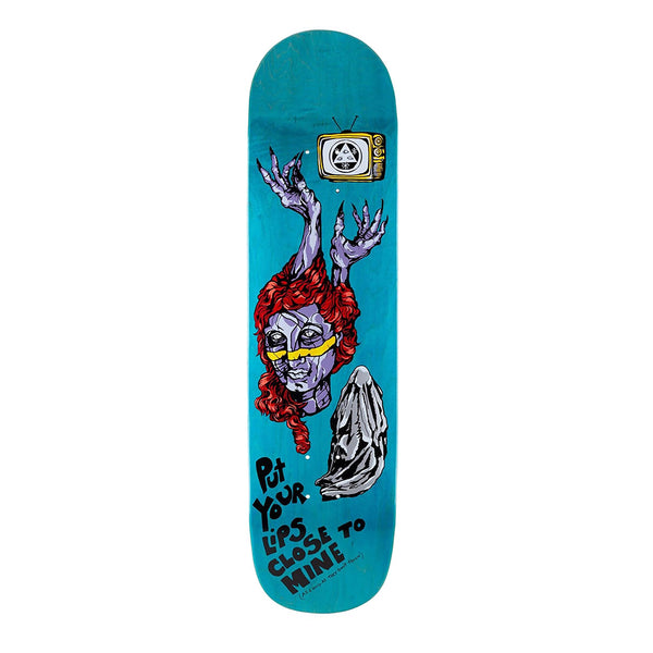 Welcome Beldam On Bonyip Teal Stain 8.25 Skateboard Deck