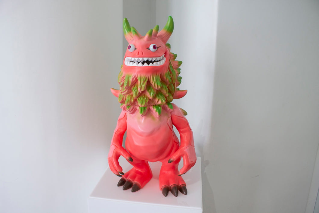 Medicom Jam Jumbo Artist Monsters T9G Rangeas Figure (Pink) 2018