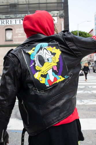 Matt Gondek | Bubble Lamb Leather Jacket customized, 2019