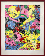 VIRAWOW | Limited Edition Print (Framed) by Kenny Scharf
