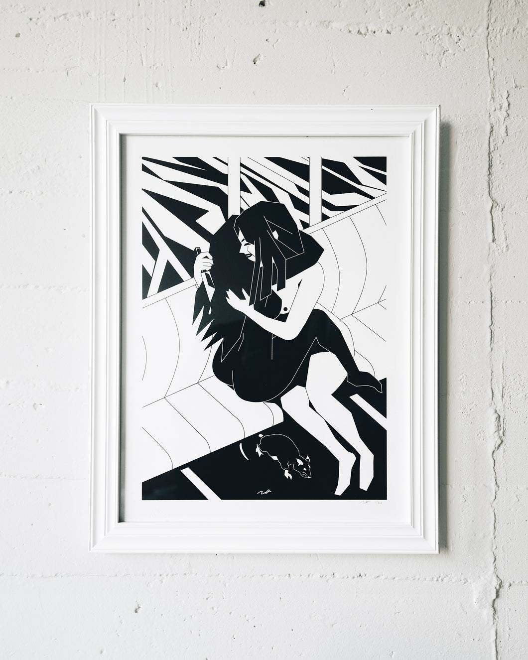 Tommii Lim Be My Valentine Limited Edition Screen Print