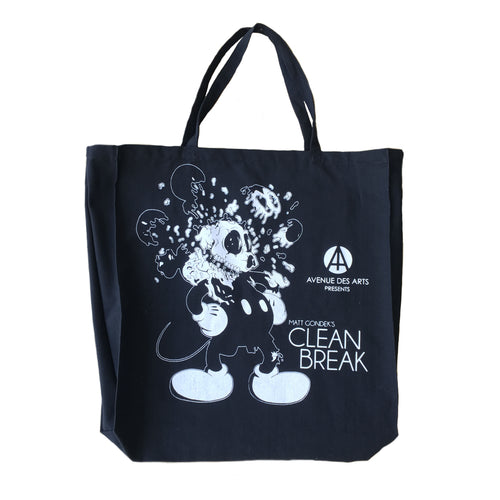 Clean Break Canvas Bag (Deconstructed Mouse)