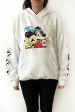"Hoodie (White) ""Growing Pains"" by Matt Gondek"