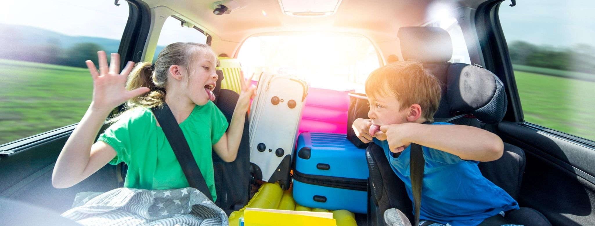 Car journey with kids