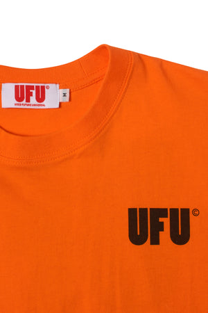 UFU AD T-SHIRT_ORANGE
