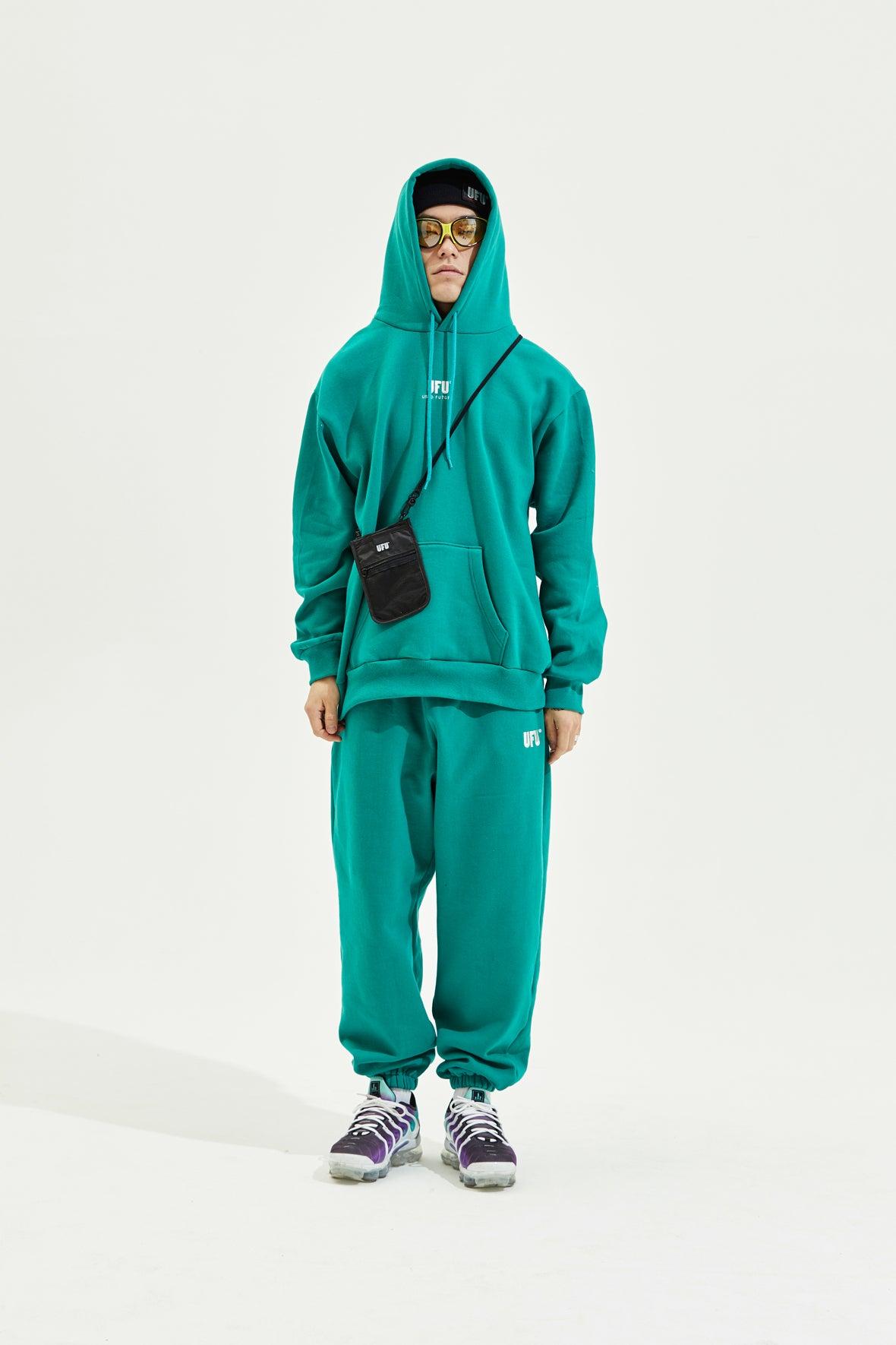 EMB SWEATPANTS_TEAL