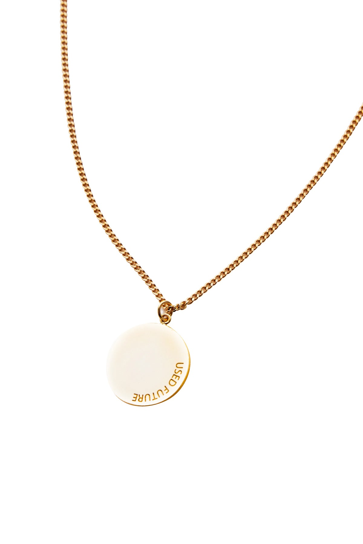 CIRCLE NECKLACE_GOLD
