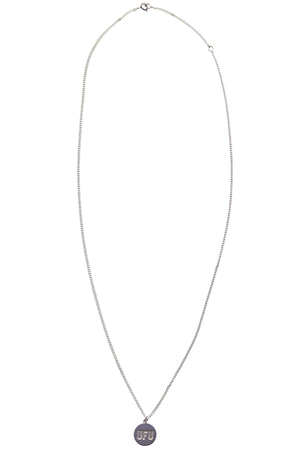 CIRCLE NECKLACE_SILVER