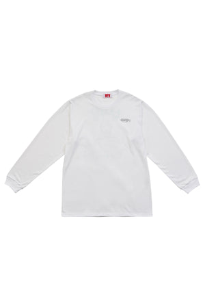 FISHERMAN LS T-SHIRT_WHITE
