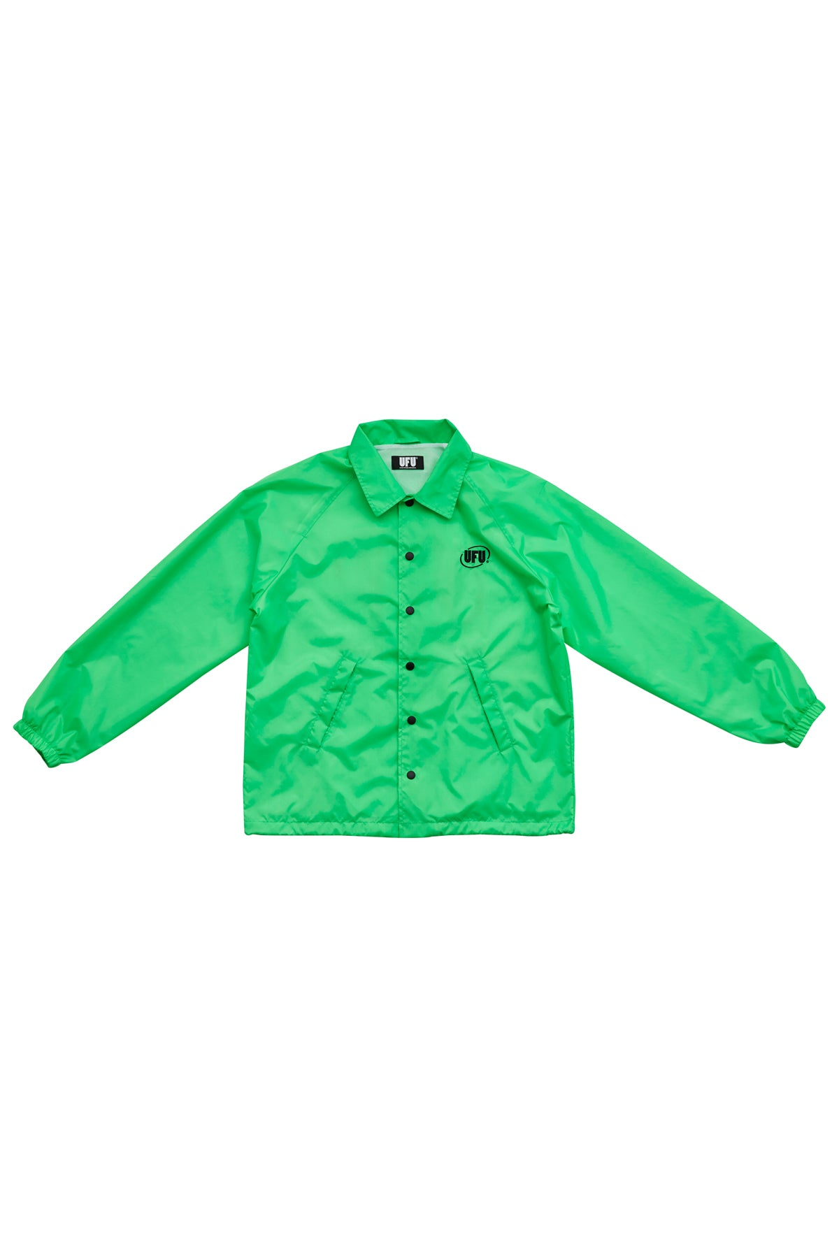 OVAL COACH JACKET_GREEN