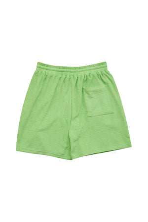 TOWEL SHORTS_GREEN