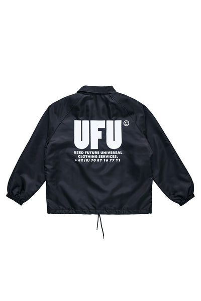 UFU AD COACH JACKET_BLACK