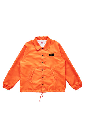 UFU AD COACH JACKET_ORANGE