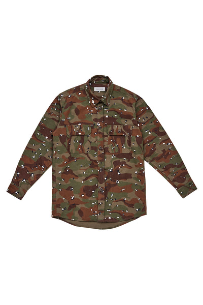 WORK SHIRT_KHAKI CAMO