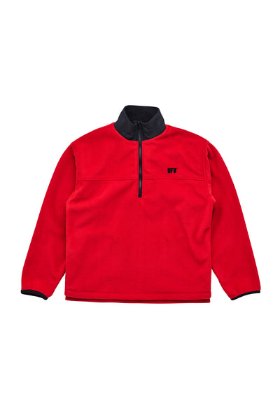 UFU HALF ZIP-UP_RED