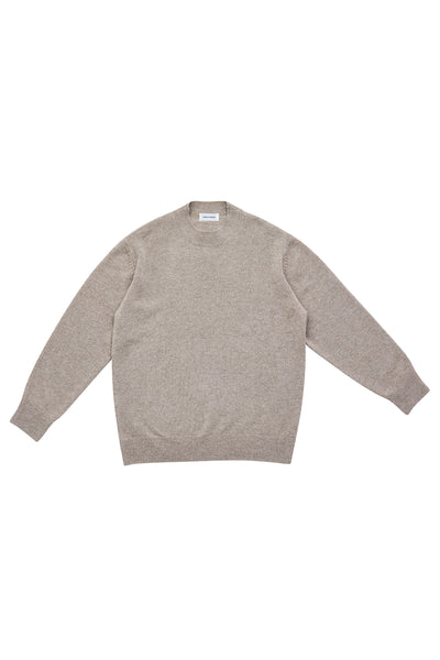 MOCK NECK SWEATER_LINEN