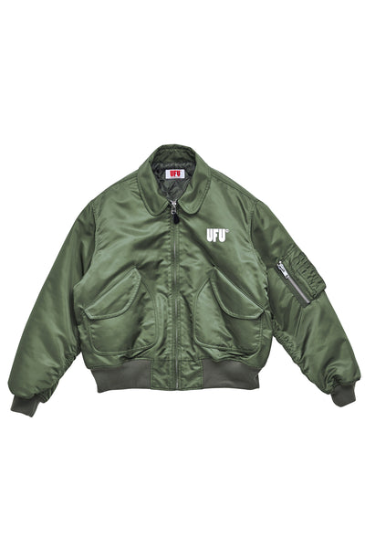 UFU FLIGHT JACKET_GREEN
