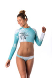 Palm Crop Rash Vest