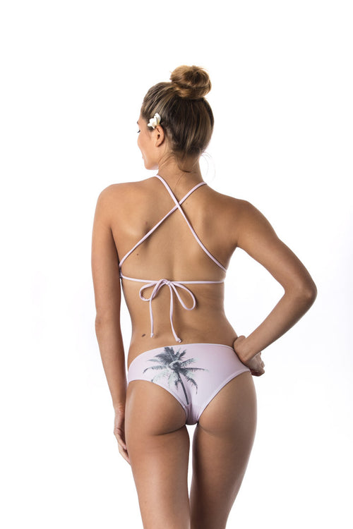 Pink Palm Sports Bottom