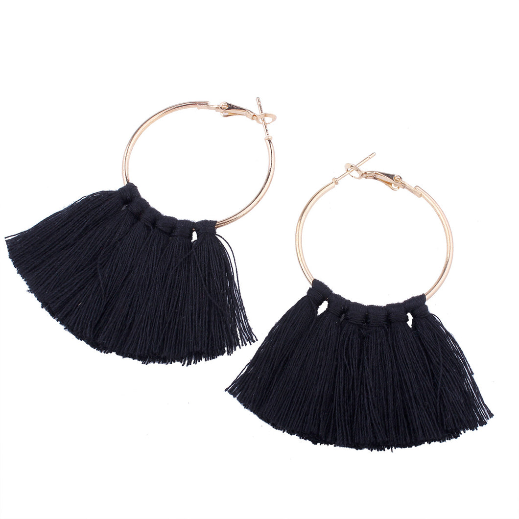 Ivy Tassel Earrings - MyOdara