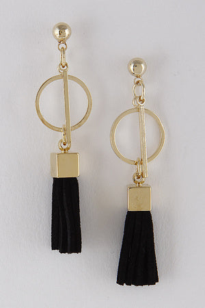 Blackish Mini Tassels - MyOdara