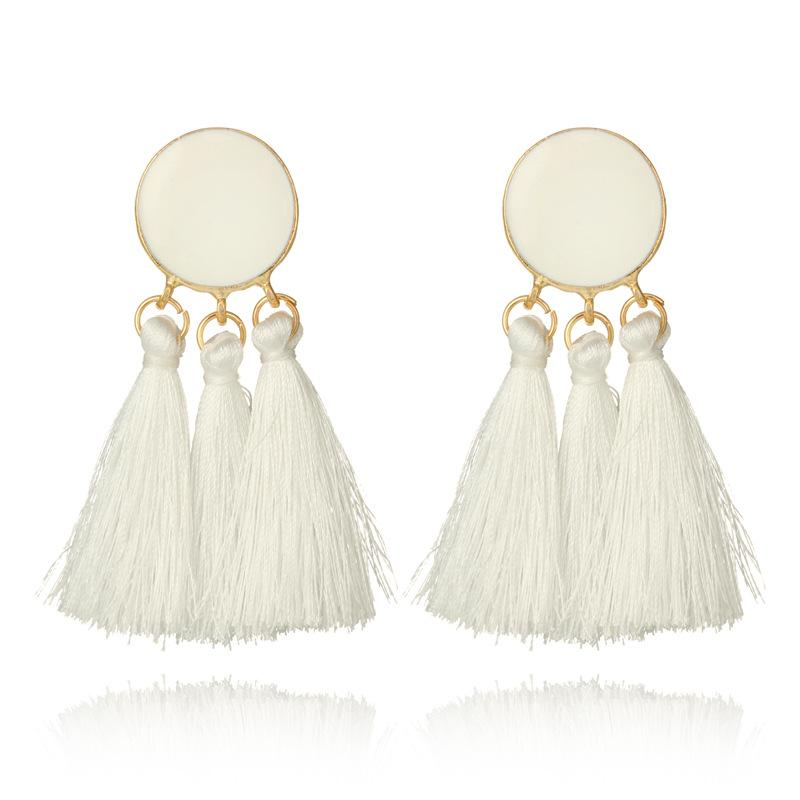 Cotton Cream Tassels - MyOdara